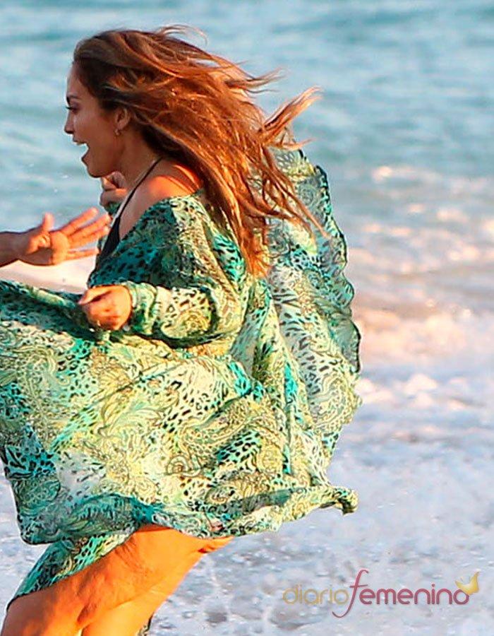 El vestido de playa de Jennifer López
