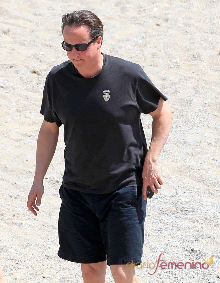 David Cameron, en las playas españolas
