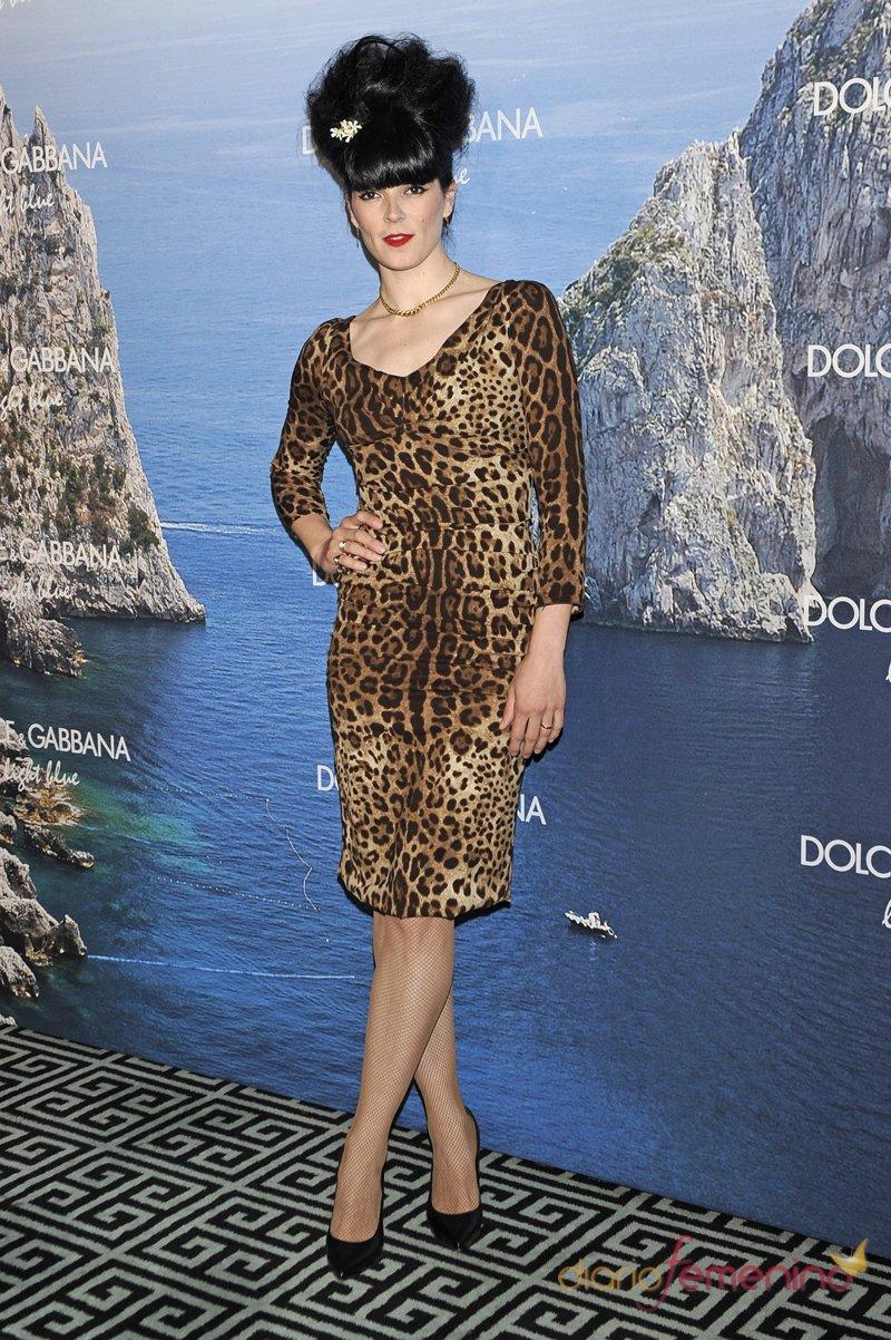 Bimba Bosé, a lo Amy Winehouse en la fiesta Dolce y Gabbana Mediterranean Summer 2013