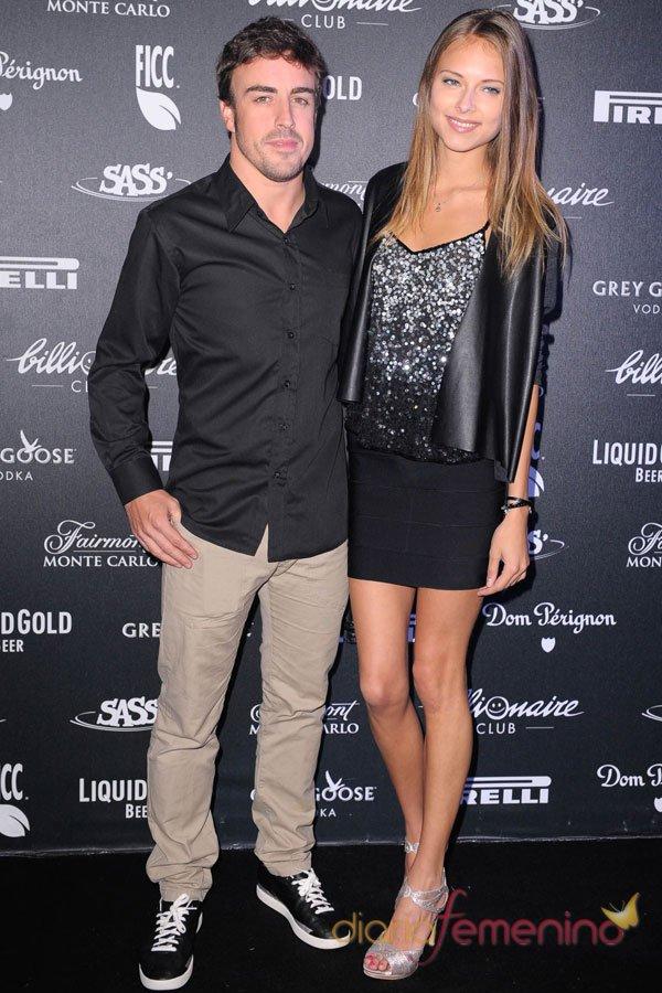 Dasha Kapustina y Fernando Alonso: fiesta de lujo en Mónaco