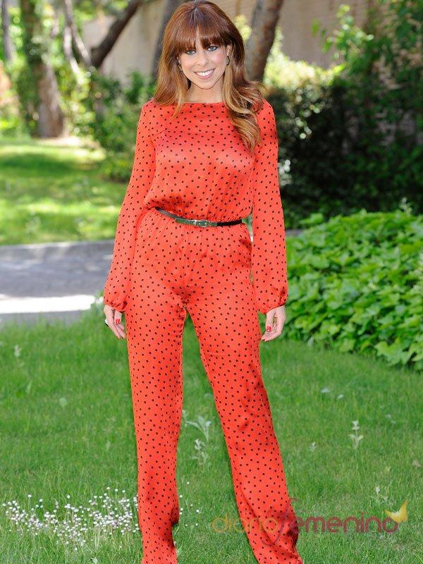 El look 'número 1' de Pastora Soler en la presentación