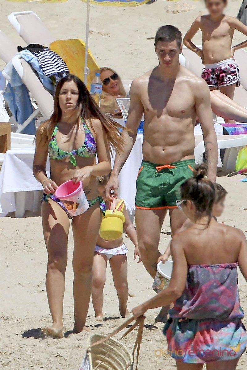 Fernando Torres y Olalla Domínguez, vacaciones familiares en Ibiza