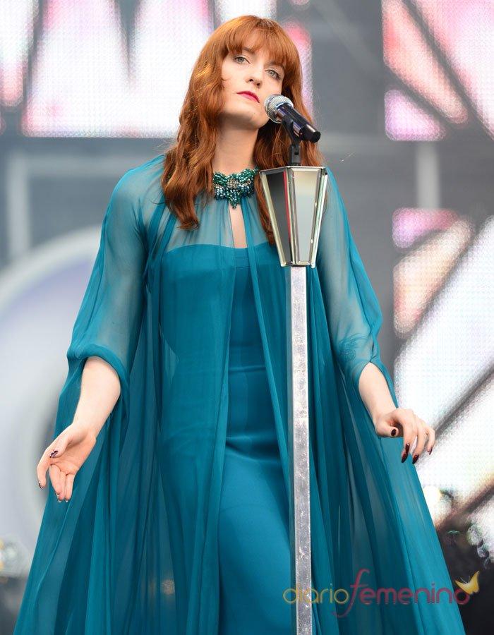 Macroconcierto por las mujeres: Florence and The Machine canta en Londres