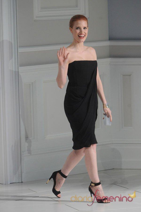 Jessica Chastain, la más sofisticada de los CFDA 2013