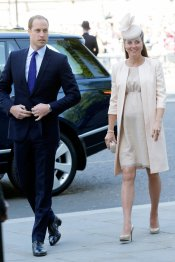 Kate Middleton: de la barriguita a la barriga
