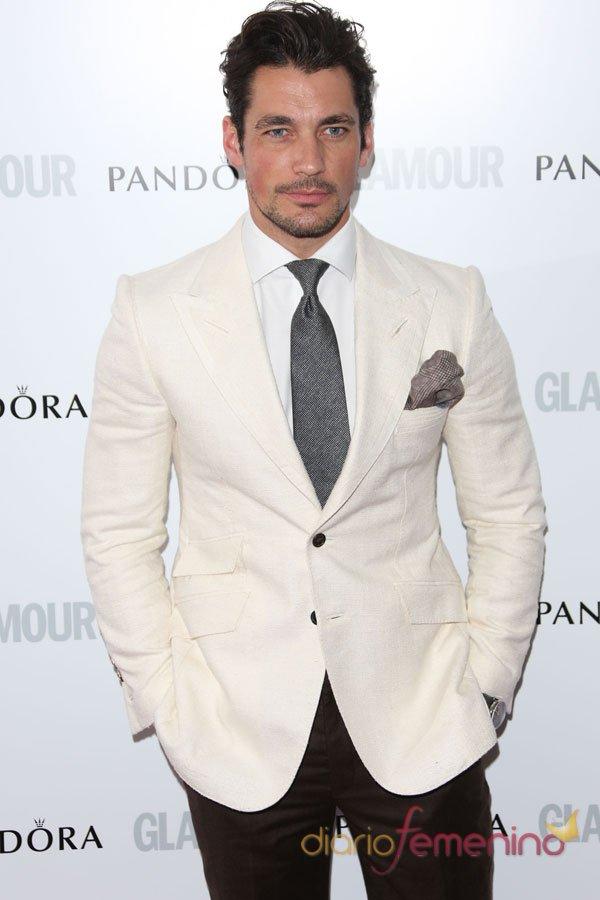 David Gandy, el más guapo en la fiesta el glamour en Londres