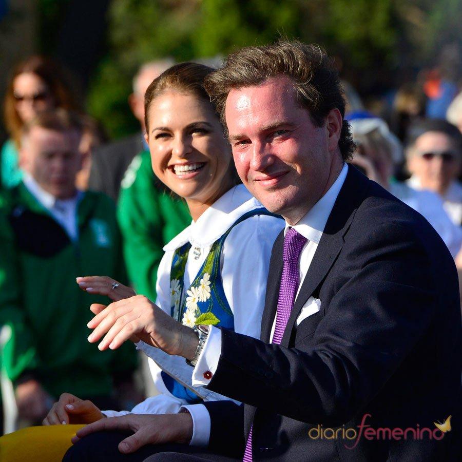 Magdalena de Suecia y Chris O'Neill, la pareja de moda de Suecia
