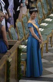 Hisako Takamodo, la princesa de Japón en la Boda Real de Suecia