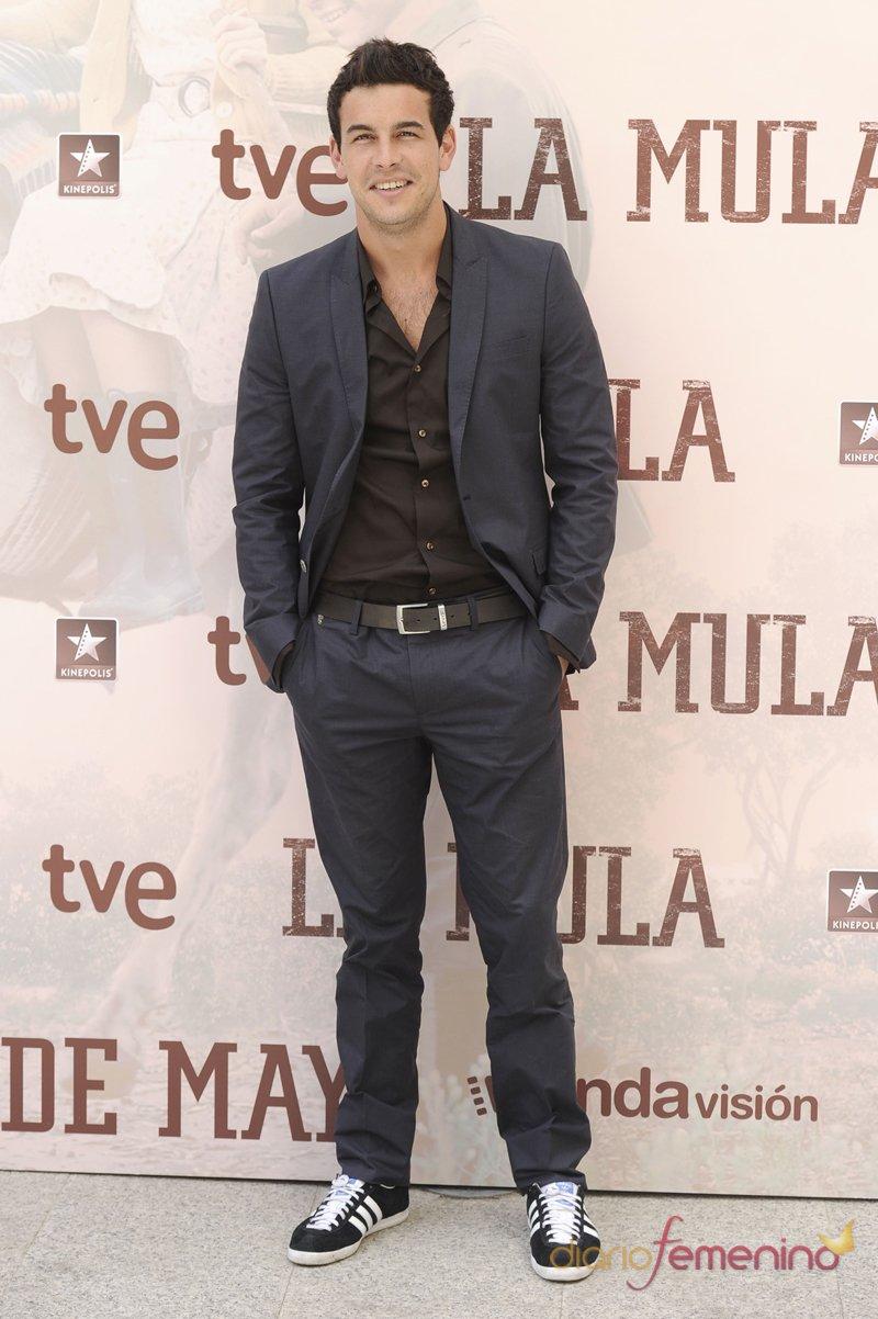 Mario Casas en la presentación de 'La Mula'