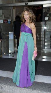 El look de María Patiño en la boda de la directora de 'Sálvame Deluxe'