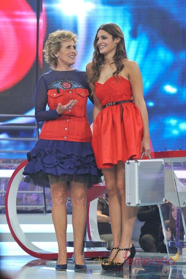 Mercedes Milá y Susana, las mujeres de rojo de GH 14