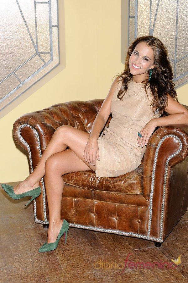 Paula Echevarría, un look perfecto en Galerías Vélvet de Antena 3