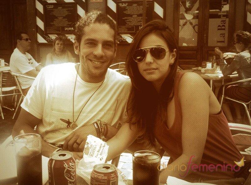 Foto de Sonia y Kristian tomada por César Walls en Canarias