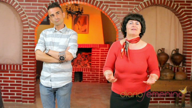 Fran, el militar de QQCCMH, y su madre Mari Carmen