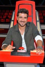 Antonio Orozco se estrena como coach de 'La Voz 2' de Telecinco