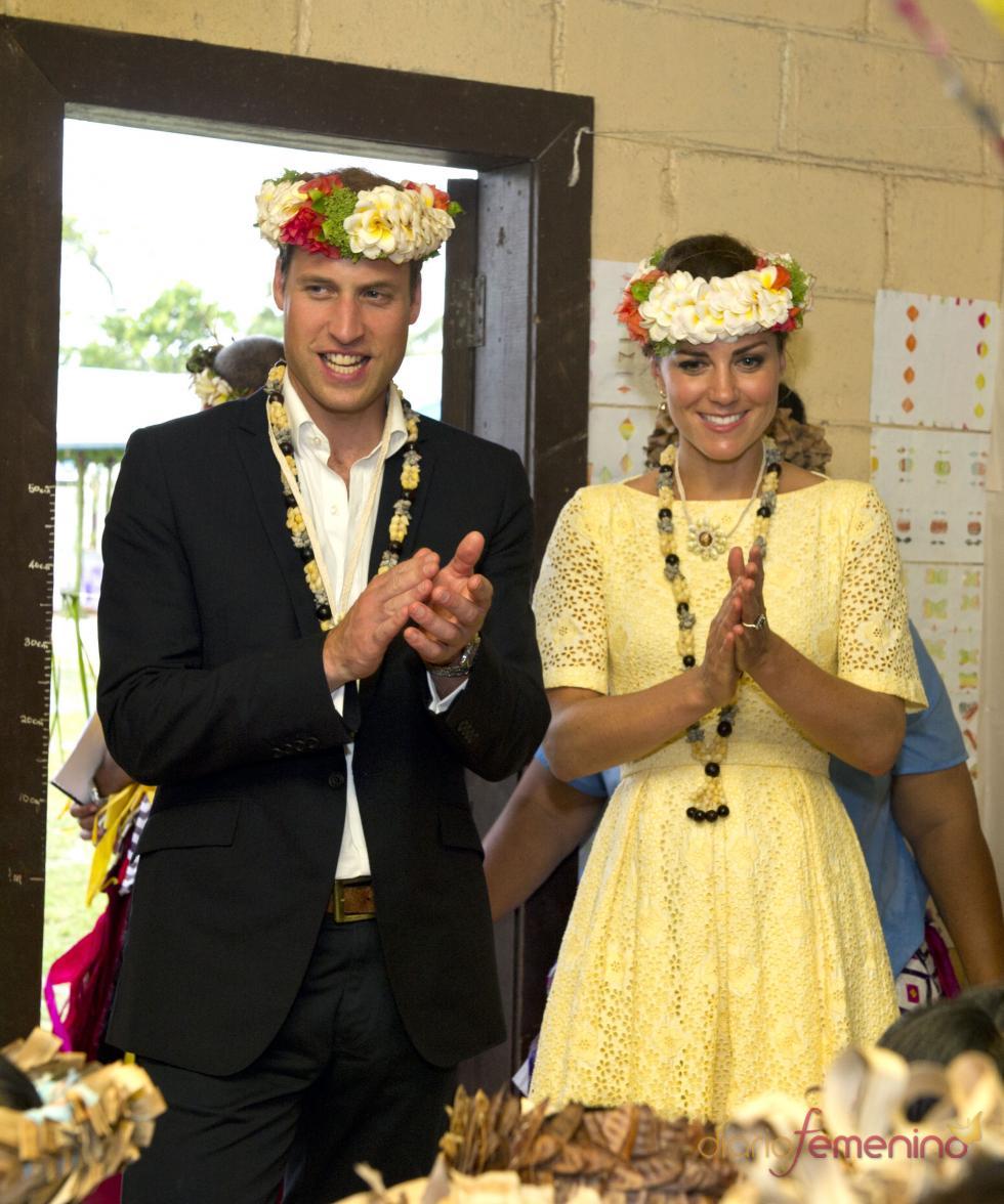 Kate Middleton y el Príncipe Guillermo han disfrutado de unos días en las Islas Salomón
