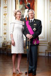 Matilde y Felipe, los nuevos reyes de Bélgica