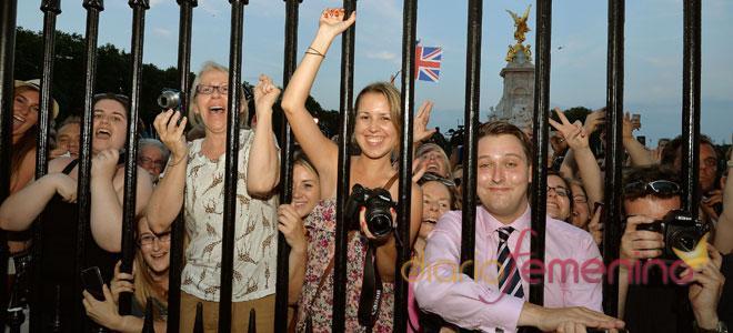 Anuncio del nacimiento del hijo de los duques de Cambridge