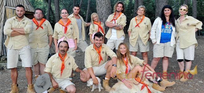 Los concursantes del 'Campamento de Verano' empiezan su aventura