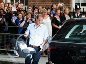 Primeras horas de vida del bebé de Kate Middleton y Guillermo de Inglaterra