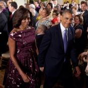 Michelle Obama ha destacado en todos los actos con su marido, el presidente, debido a su gran elegancia