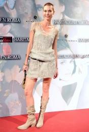 Cristina Piaget en la presentación de la película 'Habitación en Roma'