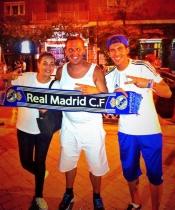 Sonia Walls y Kristian, de GH 14, son aficionados del Real Madrid
