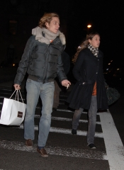 Tatiana Santo Domingo y Andrea Casiraghi en Nueva York