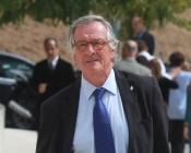 Xavier Trias, alcalde de Barcelona, en el funeral de Álvaro Bultó