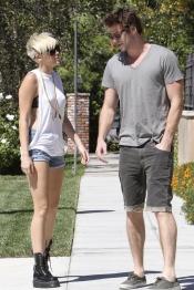 La nueva Miley Cyrus con Liam Hemsworth
