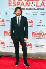 Daniel Sánchez Arévalo, director de 'La Gran Familia Española', en la premiere de la película