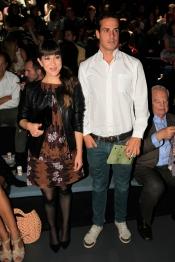 Nena Daconte nunca falta a su cita con la Madrid Fashion Week