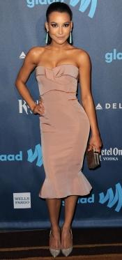 La elegancia de Naya Rivera, actriz de Glee