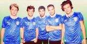 La camiseta de la selección de Italia y los chicos de One Direction