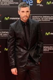 Unax Ugalde en la gala del Festival de Cine de San Sebastián 2013