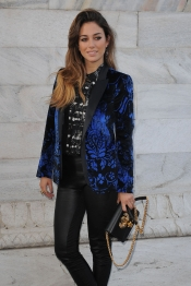 El look de Blanca Suárez para acudir a un desfile en Milán
