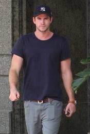 El actor Liam Hemsworth, ex novio de Miley Cyrus