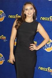 La cantante Chenoa en los premios Neox Fan Awards 2013