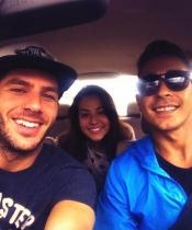 Sonia Walls, Kristian y Juan Carlos de GH 14 se van de viaje