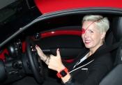 La piloto de Fórmula 1 María de Villota y los coches