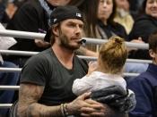 David Beckham, todo un padrazo en Los Ángeles