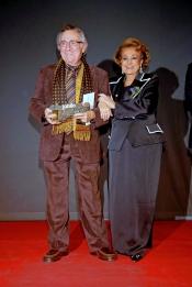 Manolo Escobar junto a Carmen Sevilla en la entrega de los premios 'Júbilo'
