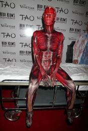 El realista disfraz de Heidi Klum para Halloween