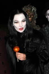 Kate Moss, disfrazada para Halloween