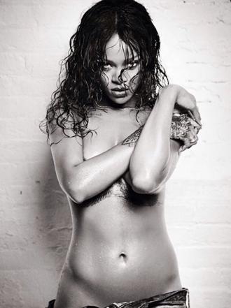 Las fotos prohibidas de Rihanna
