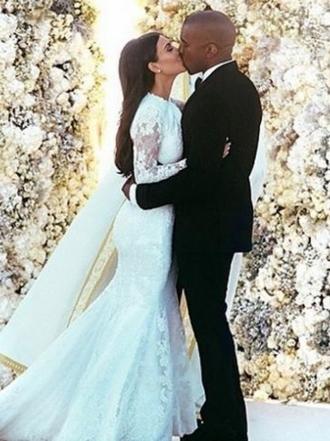 El aniversario de boda de Kim Kardashian y Kanye West