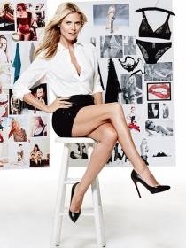 El lado más hot de Heidi Klum para Intimates