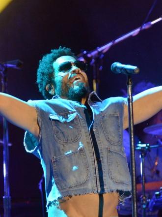 Lenny Kravitz y otros accidentes de artistas en conciertos
