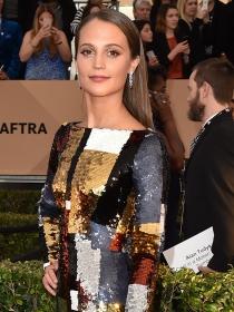 SAG Awards 2016: Alicia Vikander y las mejor vestidas