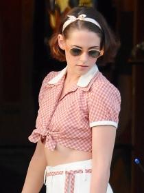 ¡Cámara y acción! Kristen Stewart y otros famosos en rodajes